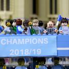 Manchester City FC celebrations at Lego Discovery Centre Manchester (LEGOLAND Discovery Centre Manchester)