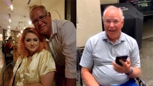Whitney and her grandfather (@boybehindbricks/Twitter)