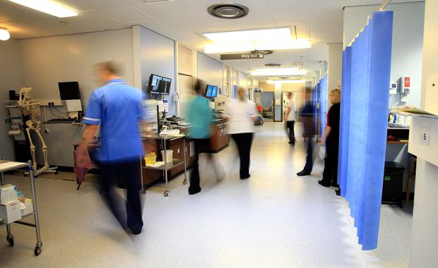 'Standing in A&E is an eye-opener.' Stock photo: PA
