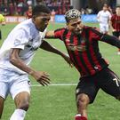 Josef Martinez, right, missed a penalty against DC United (Curtis Compton/AP)