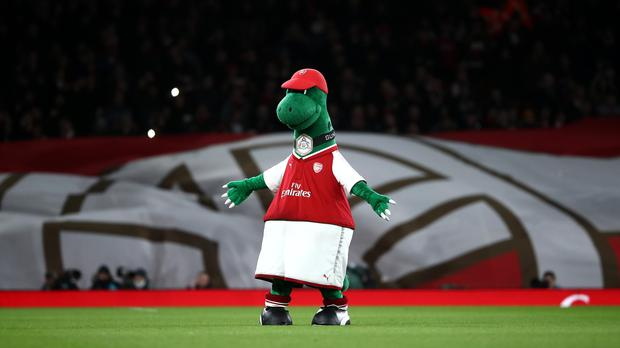 It was a bad day for Gunnersaurus (John Walton/PA)