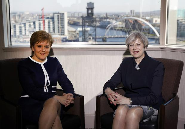 Nicola Sturgeon called her conversations with Theresa May during her time as UK prime minister 'pretty soul destroying'