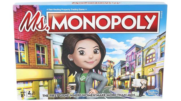 The new Ms Monopoly game (Hasbro)