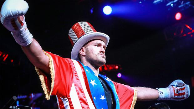 Tyson Fury has accepted an invitation to appear on WWE (Matthew Heasley/PA)