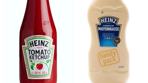 Heinz ketchup and Heinz Mayonnaise (eyewave/ serts/Getty Images/PA)