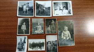 Police have asked for help to reunite old black and white family photographs found in a shopping centre with their rightful owner