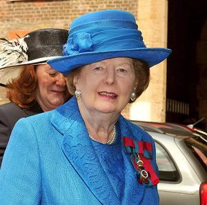 A TV station has apologised for airing the wrong footage following the death of Margaret Thatcher