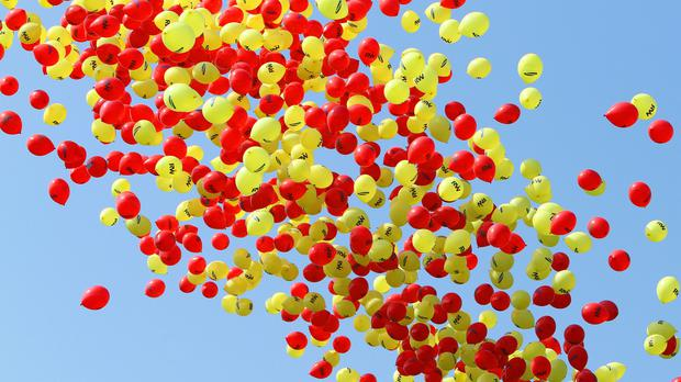 Some people have a balloon phobia (Geoff Caddick/PA)