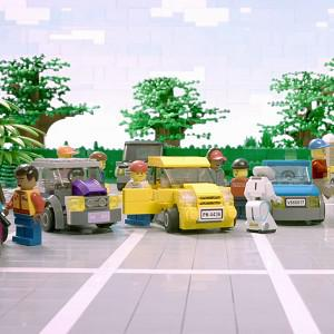 A Lego recreation of the Confused.com advert as the world's first ad break made entirely from Lego is to be screened by ITV (Lego/PA)