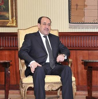Iraq's upcoming provincial election is an important test for prime minister Nouri al-Maliki (AP)