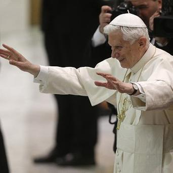Pope Benedict XVI hit his head during his trip to Mexico last year (AP)