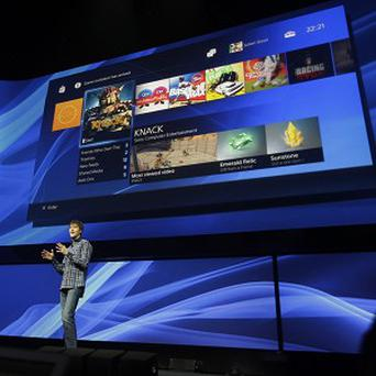 Mark Cerny, lead system architect for the Sony Playstation 4, speaks during a news conference about the video game console (AP)