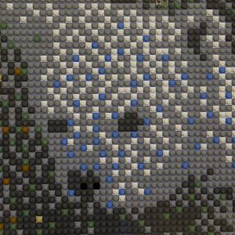 A mural made of Lego toys. The toymaker has seen sales soar by 25 per cent (AP)