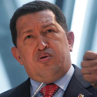 Venezuela's president Hugo Chavez is undergoing cancer treatment at a military hospital in Caracas