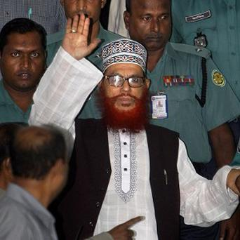 Delwar Hossain Sayeedi has been given the death sentence (AP)