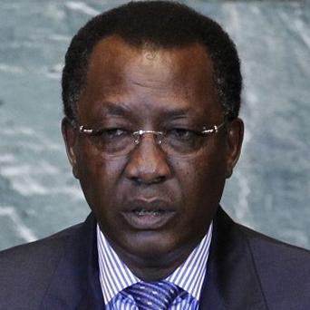 Chad's president Idriss Deby says his country's troops have killed an al Qaida-linked group's commander in northern Mali (AP)