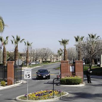 Glenwood Gardens in Bakersfield, California, where an elderly woman died after a nurse refused to perform CPR on her (AP/Gosia Wozniacka)