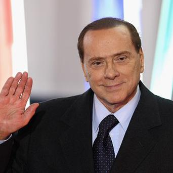 Former Italian premier Silvio Berlusconi remains in hospital with an eye inflammation