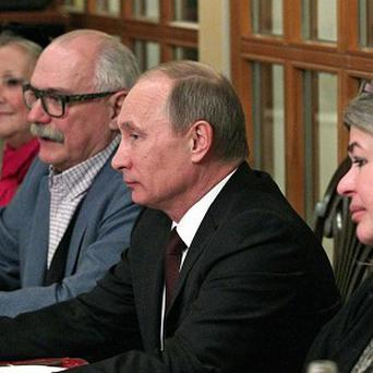 Russian leaer Vladimir Putin wants to re-introduce school PE lessons started by Stalin (AP)