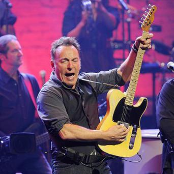 Bruce Springsteen has kicked off his Australian tour with a warning about his political influence over national economics (AP)