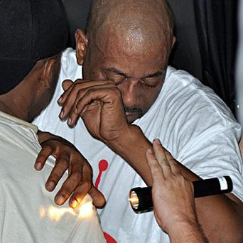 Rapper Tone Loc collapsed after finishing a song during a Saturday night concert (AP)