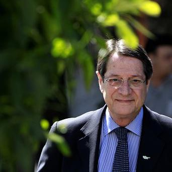 Cypriot president Nicos Anastasiades has come up with an alternative economic plan, according to reports (AP)