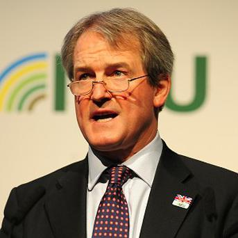 Owen Paterson insisted that the future CAP must centre on reducing EU support for the market