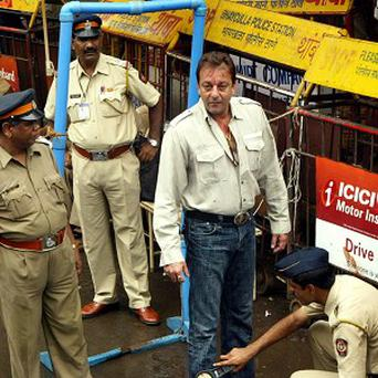 Bollywood actor Sanjay Dutt has been jailed for five years (AP)