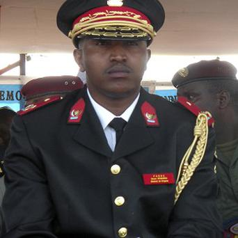 Bosco Ntaganda is being flown to The Hague to face trial on charges of overseeing atrocities in DR Congo (AP)
