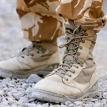 The soldier was injured in an attack in Helmand Province, Afghanistan, on Monday