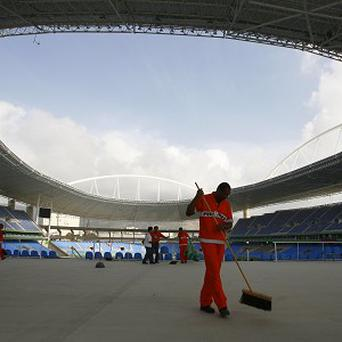 The Joao Havelange Stadium is known locally as the Engenhao (AP)
