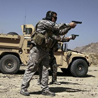 US troops will continue to operate throughout the rest of Wardak province despite handing over their base in the Nirkh district
