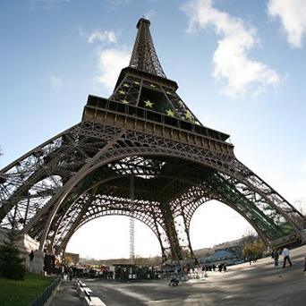 The Eiffel Tower in Paris was evacuated after an anonymous bomb threat