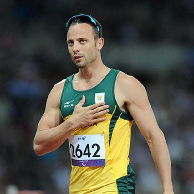 Double amputee and six-time Paralympic sprint champion Oscar Pistorius is awaiting trial