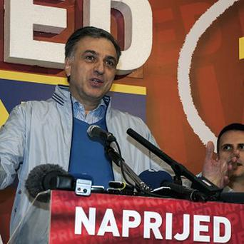 Opposition members have said they will not recognise Filip Vujanovic's victory in the Montenegrin elections (AP)
