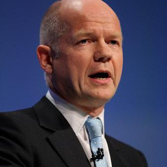 Foreign Secretary William Hague said Syria and North Korea would be top of the agenda at a meeting of G8 foreign ministers