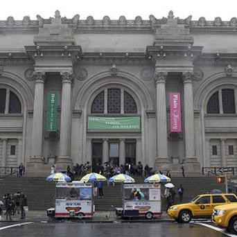 The Metropolitan Museum of Art in New York has been given a billion-dollar collection (AP)