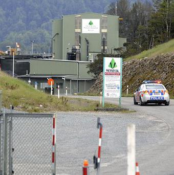 An explosion at the Pike River Coal Mine killed 29 miners (AP/NZPA, Ross Setford)