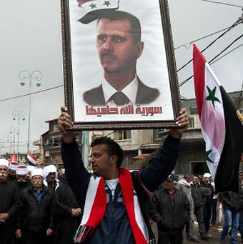 More than 70,000 people have been killed since the revolt in Syria started in March 2011 (AP)
