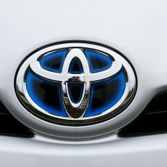 Toyota sold 2.43 million vehicles in the January-March period
