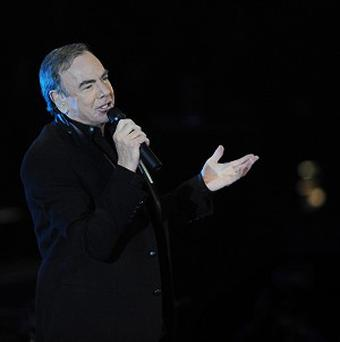 Sales from Neil Diamond's song Sweet Caroline are up by 597 per cent, Nielsen SoundScan said
