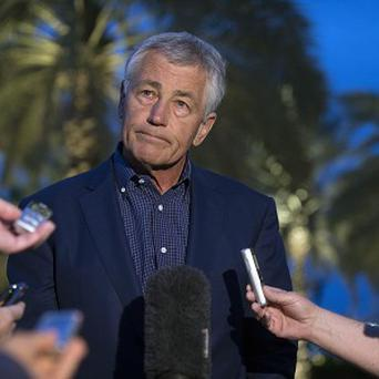 US Secretary of Defence Chuck Hagel says the use of chemical weapons