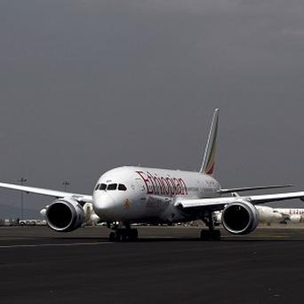 An Ethiopian Airlines 787 Dreamliner prepares to take off from Addis Ababa (AP)