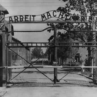 The main gate of the Nazi concentration camp Auschwitz in Poland (AP)