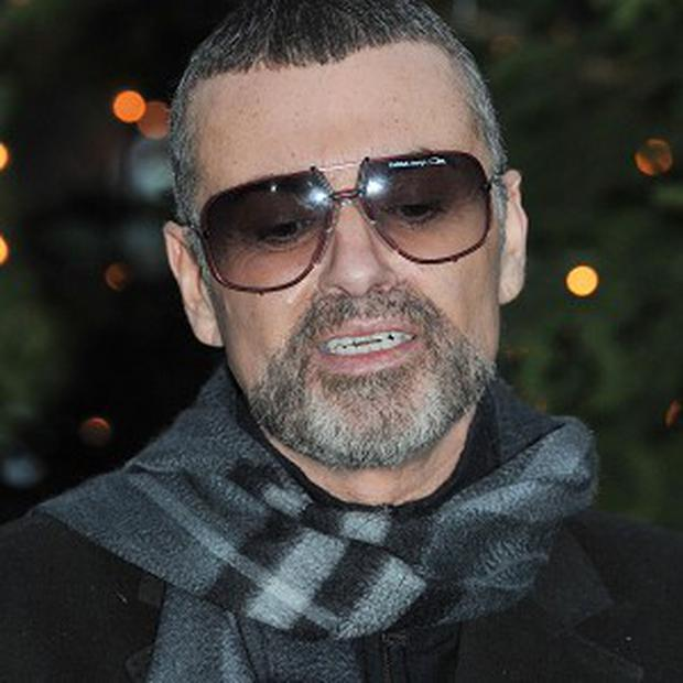 George Michael was a passenger in a car which crashed on the M1 on Thursday evening