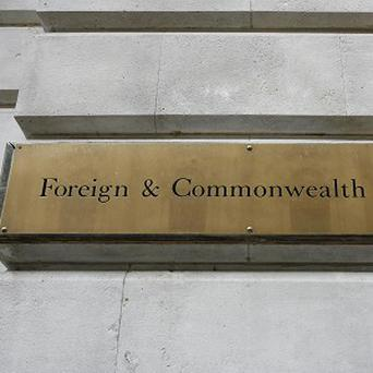 A Foreign Office spokesman confirmed the death