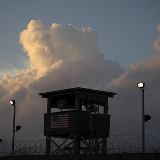 The detention facility on Guantanamo Bay currently holds 166 prisoners (AP/Brennan Linsley)