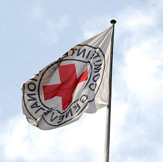 A Red Cross building in Afghanistan has come under attack