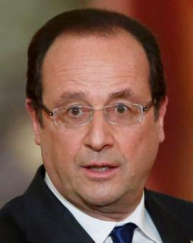 French President Hollande faces a tough time steadying France's economy