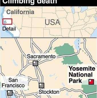 Felix Joseph Kiernan died after being struck by a rock during a climbing accident in Yosemite National Park